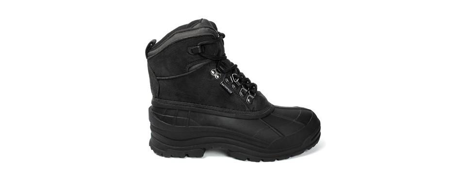 labo men's waterproof boots for winter