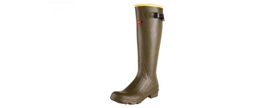 lacrosse grange hunting rain boots