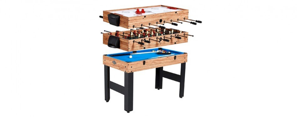 "lancaster 48"" 3-in-1 foosball table"