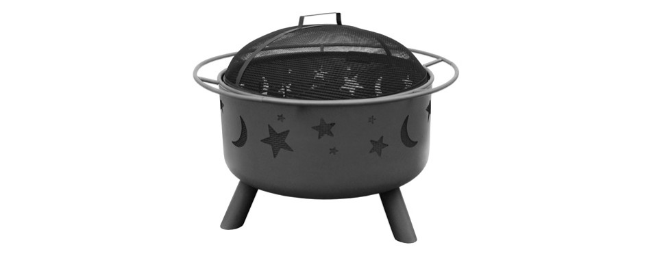 landmann 28345 sky stars and moons firepit