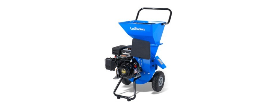 landworks super heavy duty wood chipper shredder