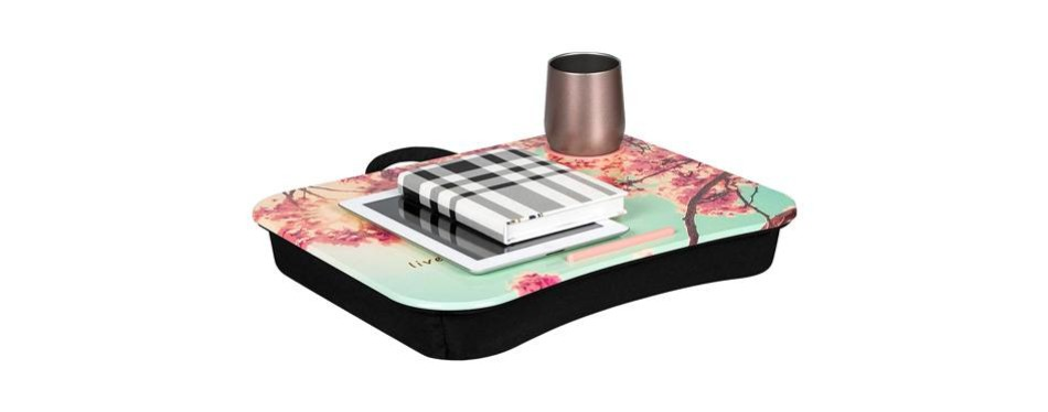 lapgear cup holder lap desk - full bloom