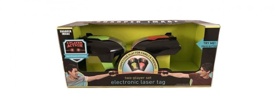 laser tag set electronic game – two player set