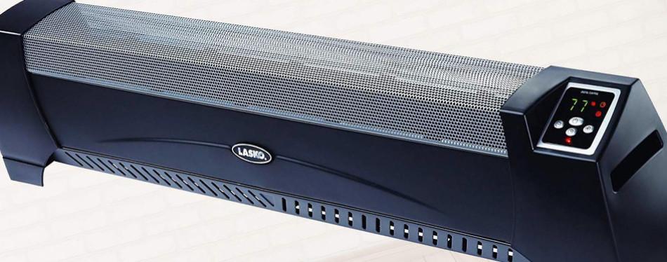lasko 5624 low profile silent operation space heater