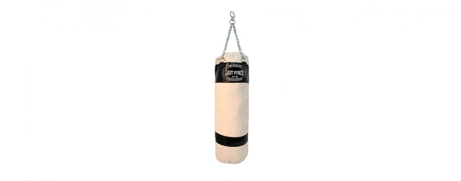 last punch heavy duty punching bag