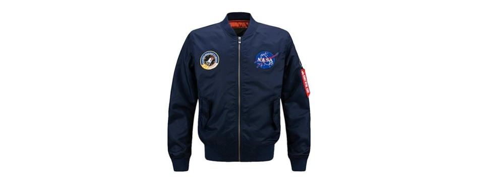 lavnis men's hip-hop jacket