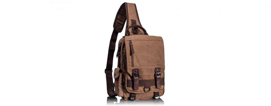 leaper messenger style sling bag