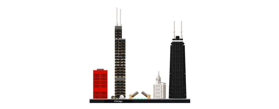 lego architecture chicago skyline