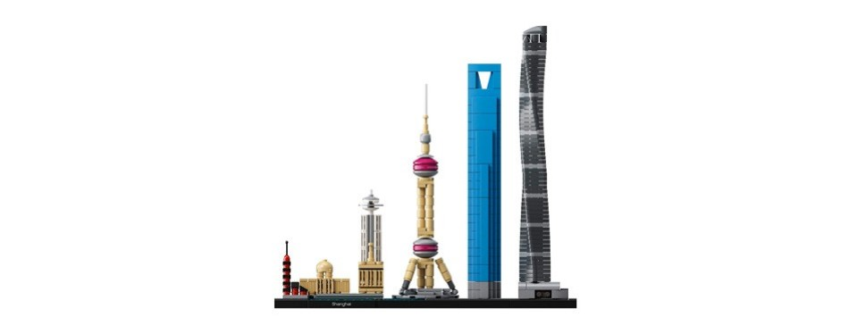 lego architecture shanghai skyline
