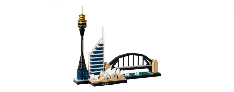 lego architecture sydney skyline