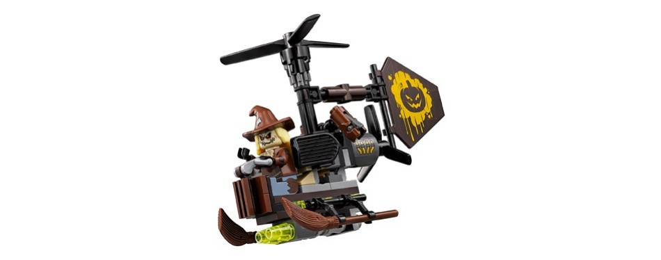 lego batman movie scarecrow fearful face-off 70913