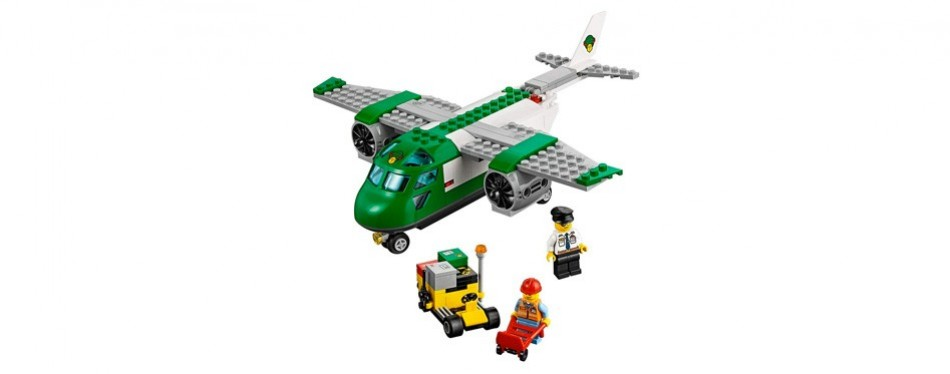 lego city airport cargo plane