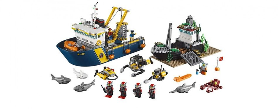 lego city deep explorers exploration vessel
