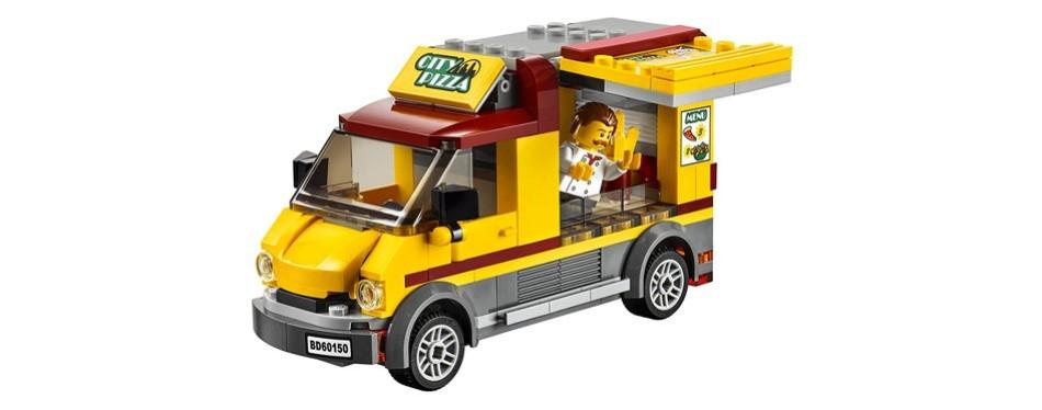 lego city great vehicles pizza van