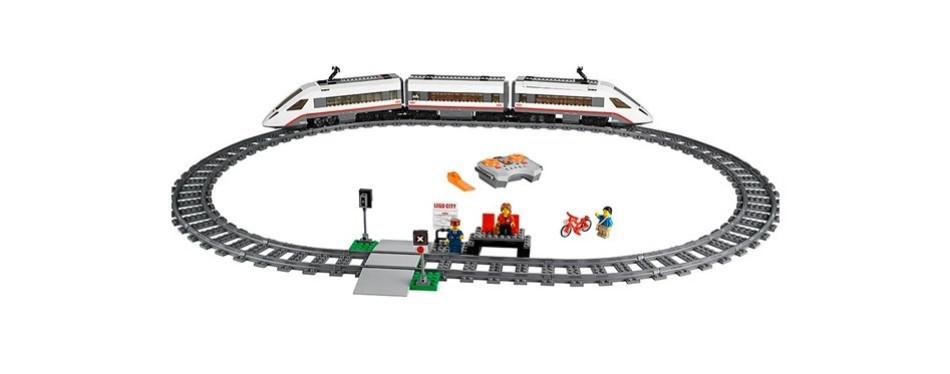 lego city high-speed passenger train