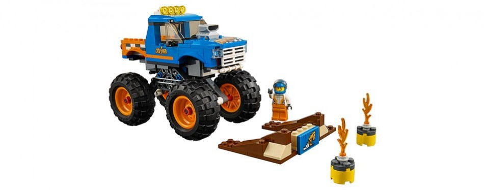 lego city monster truck building kit