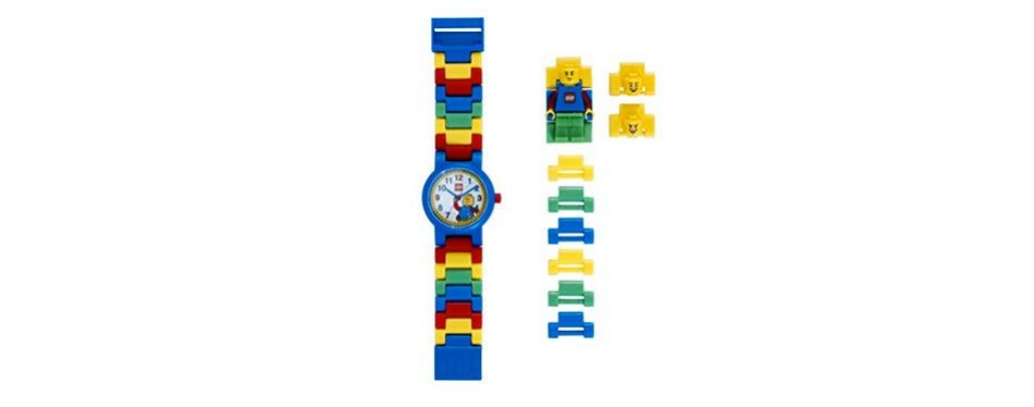 lego classic kids minifigure link buildable watch