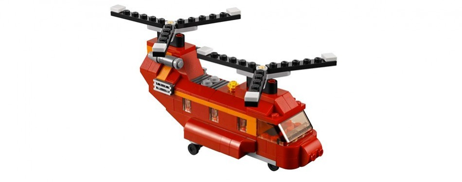 lego creator set red rotors
