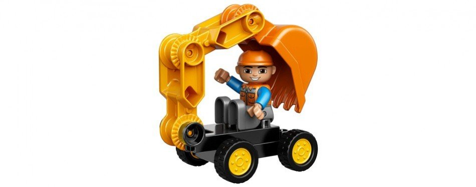 lego duplo town and truck excavator