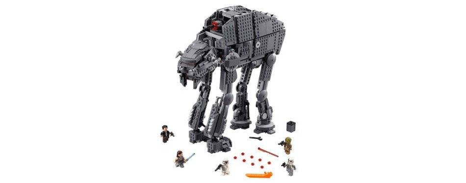 lego episode viii first order heavy assault walker building kit