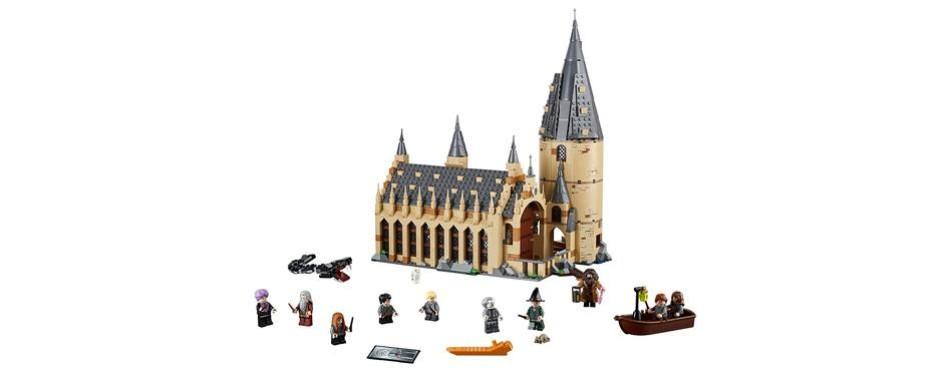lego harry potter hogwarts great hall set