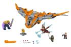lego marvel super heroes avenger infinity war thanos building kit