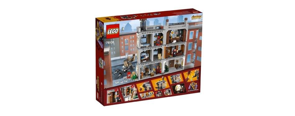 lego marvel super heroes avengers infinity war sanctum sanctorum building kit