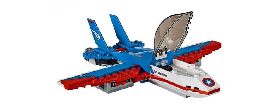 lego marvel super heroes captain america jet pursuit building kit