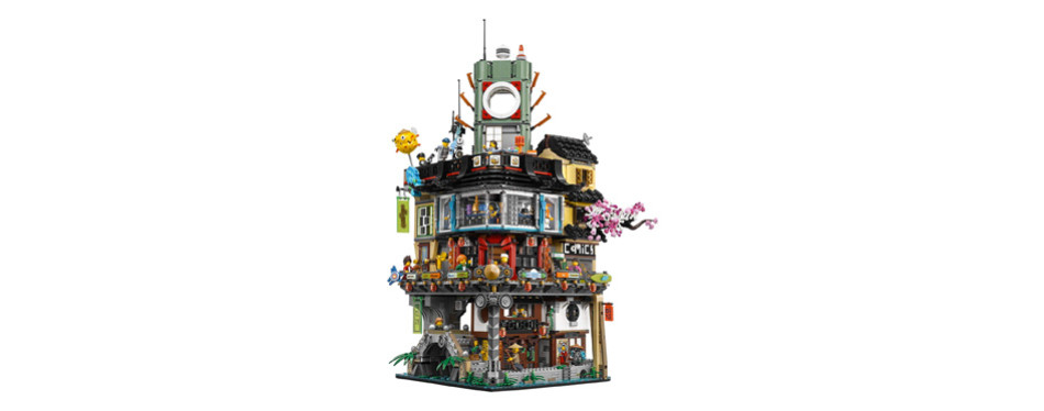 lego ninjago city building kit