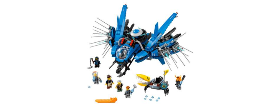 lego ninjago movie lightning jet building kit