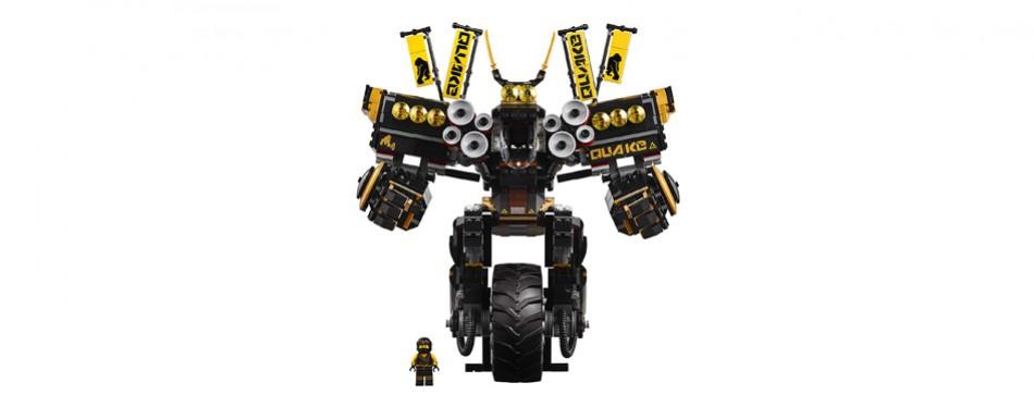 lego ninjago movie quake mech building set