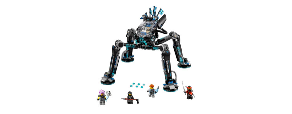 lego ninjago movie water strider building kit