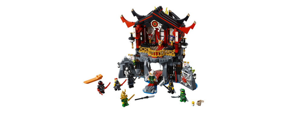 lego ninjago temple of resurrection building kit