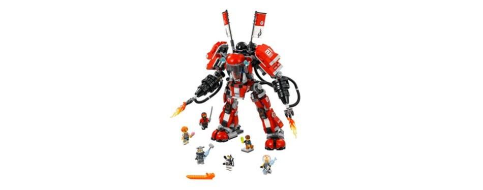 lego robot ninjago movie fire mech 70615 building kit