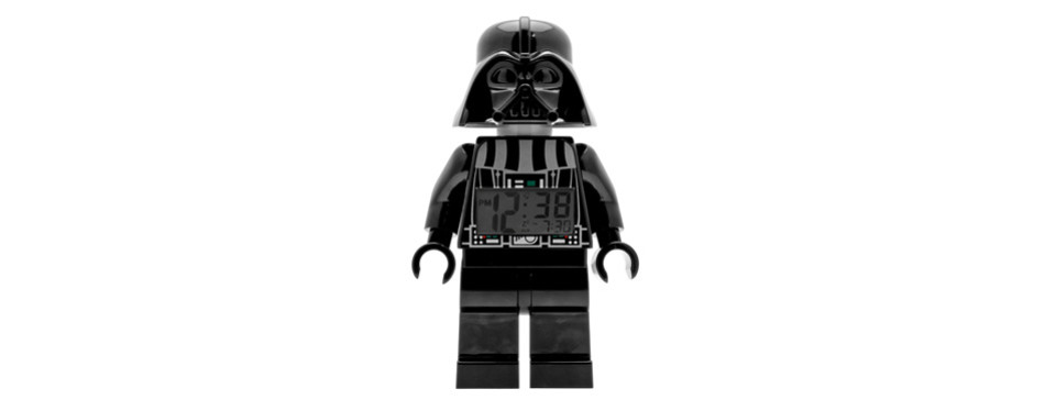 lego star wars darth vadar alarm clock