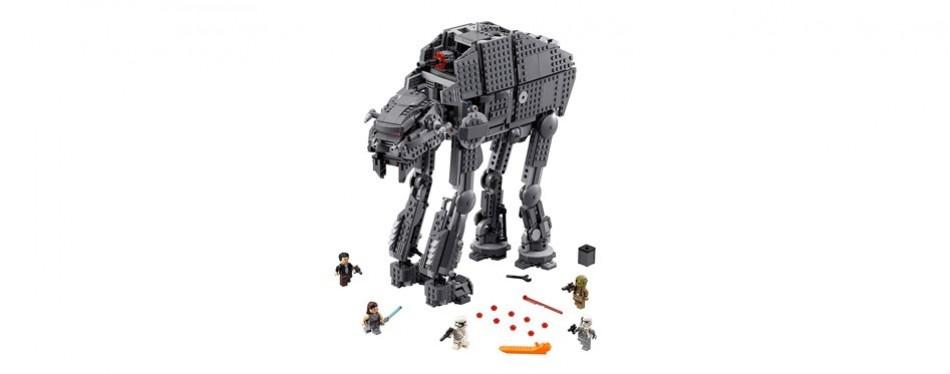 lego star wars episode viii first order heavy assault walker 75189 building kit