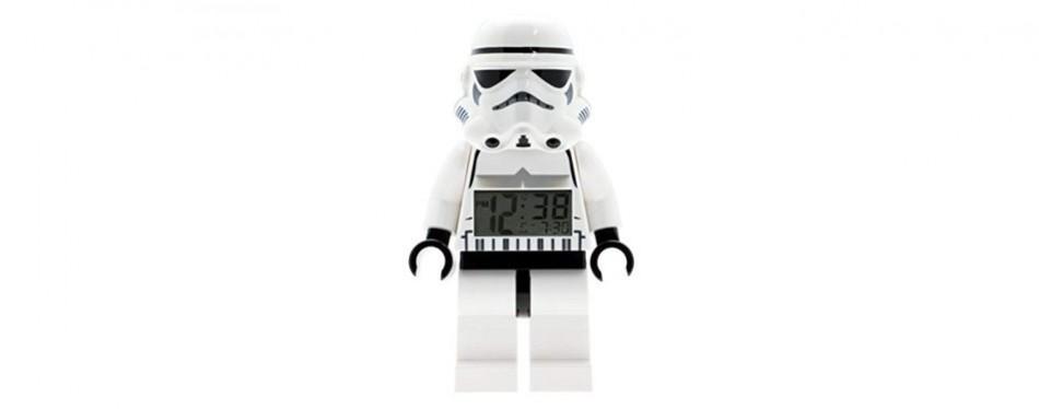 lego star wars kids alarm clock