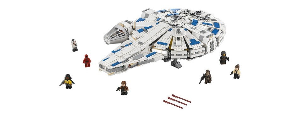 lego star wars solo: a star wars story kessel run millennium falcon