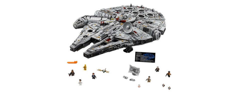 lego star wars ultimate millennium falcon kit