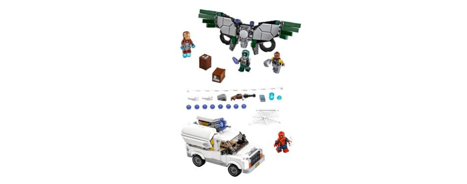 lego super heroes beware the vulture building kit