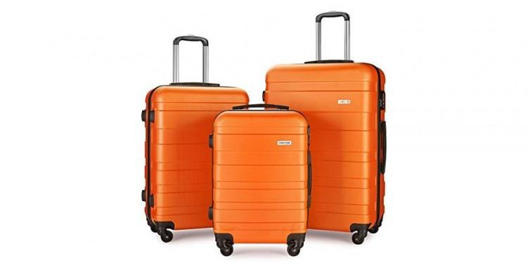 LEMOONE Three-Piece Spinner Luggage