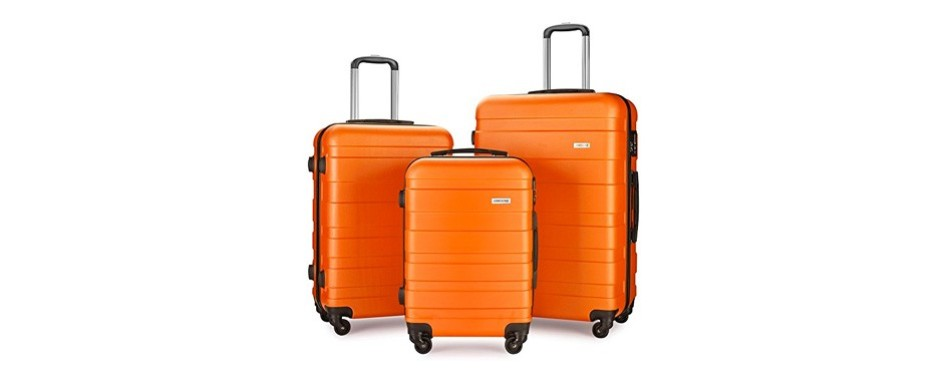 lemoone three-piece spinner luggage