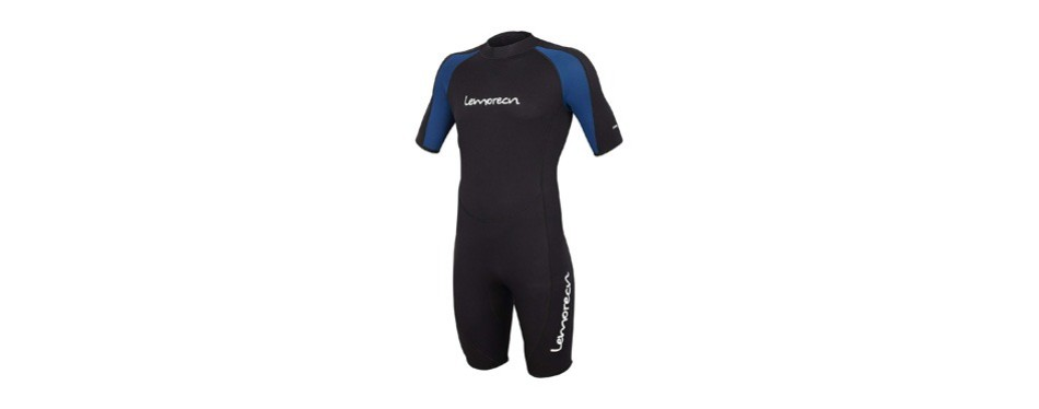 lemorecn wetsuits adult's premium neoprene diving suit