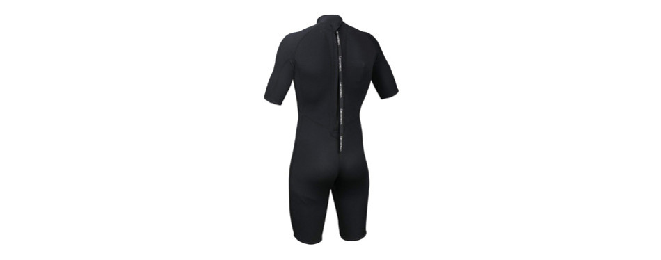 lemorecn wetsuits mens neoprene 3mm shorty diving suit
