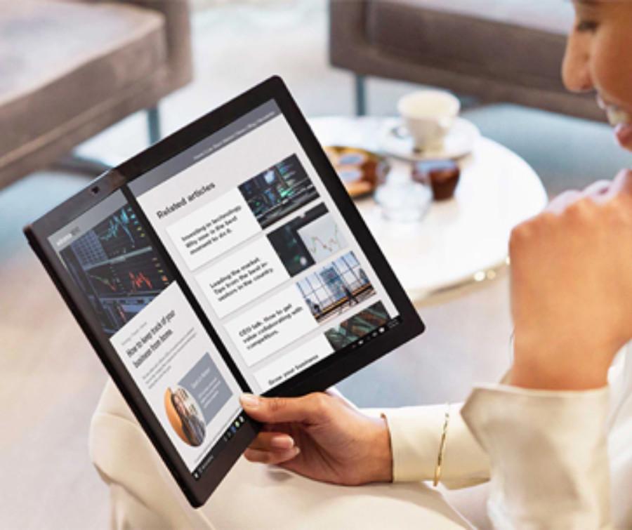 Lenovo ThinkPad X1 Fold PC - Bringin' Flexy Back