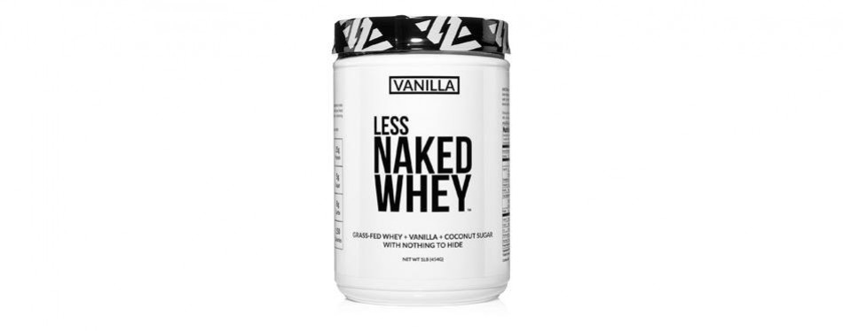 less naked whey protein