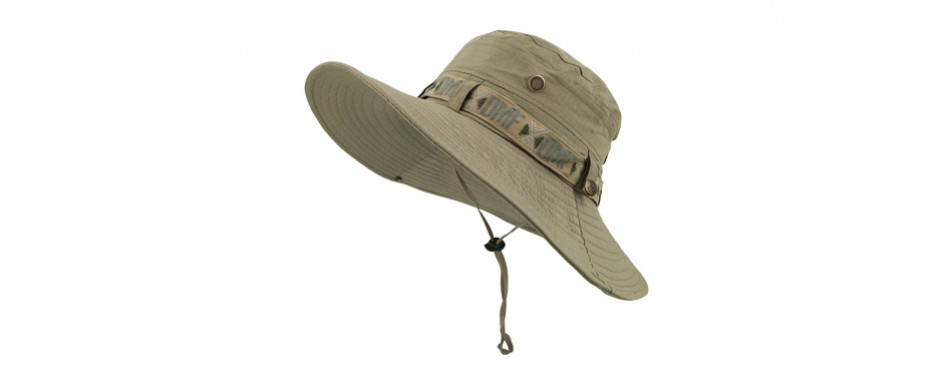lethmik boonie waterproof uv protection fishing hat