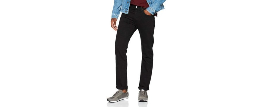 levi's 501 original shrink-to-fit american made jeans