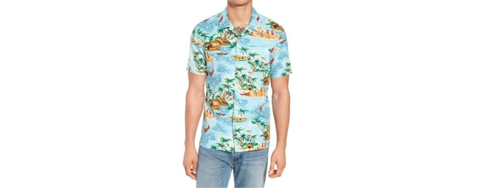 levi's hawaiian camp shirt