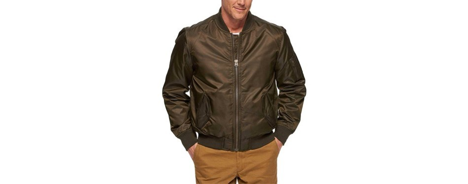 levi's men's ma-1 flight jacket